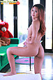 Pretty Nam Patarada strips lingerie and plays with vibrator